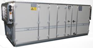 centrale de traitement d'air pour le tertiaire. Chauffage industriel